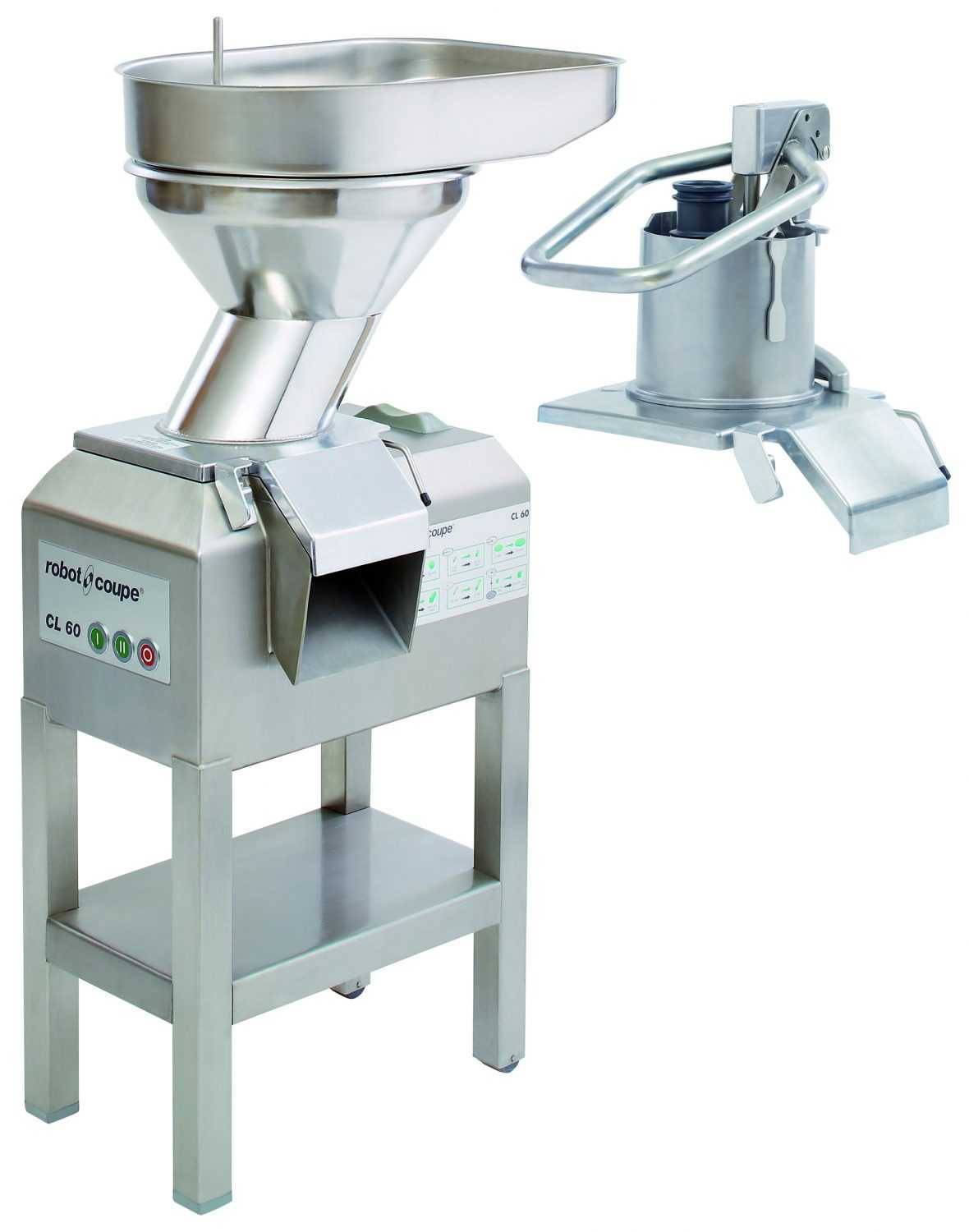 Robot Coupe CL60 2 Feed-Heads Vegetable Preparation Machine
