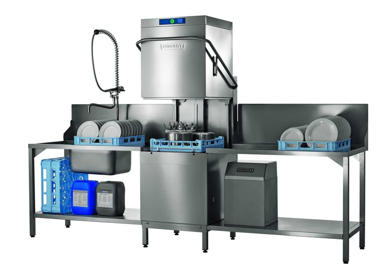 Hobart PROFI AMXR-V Glass & Dishwasher With VAPOSTOP