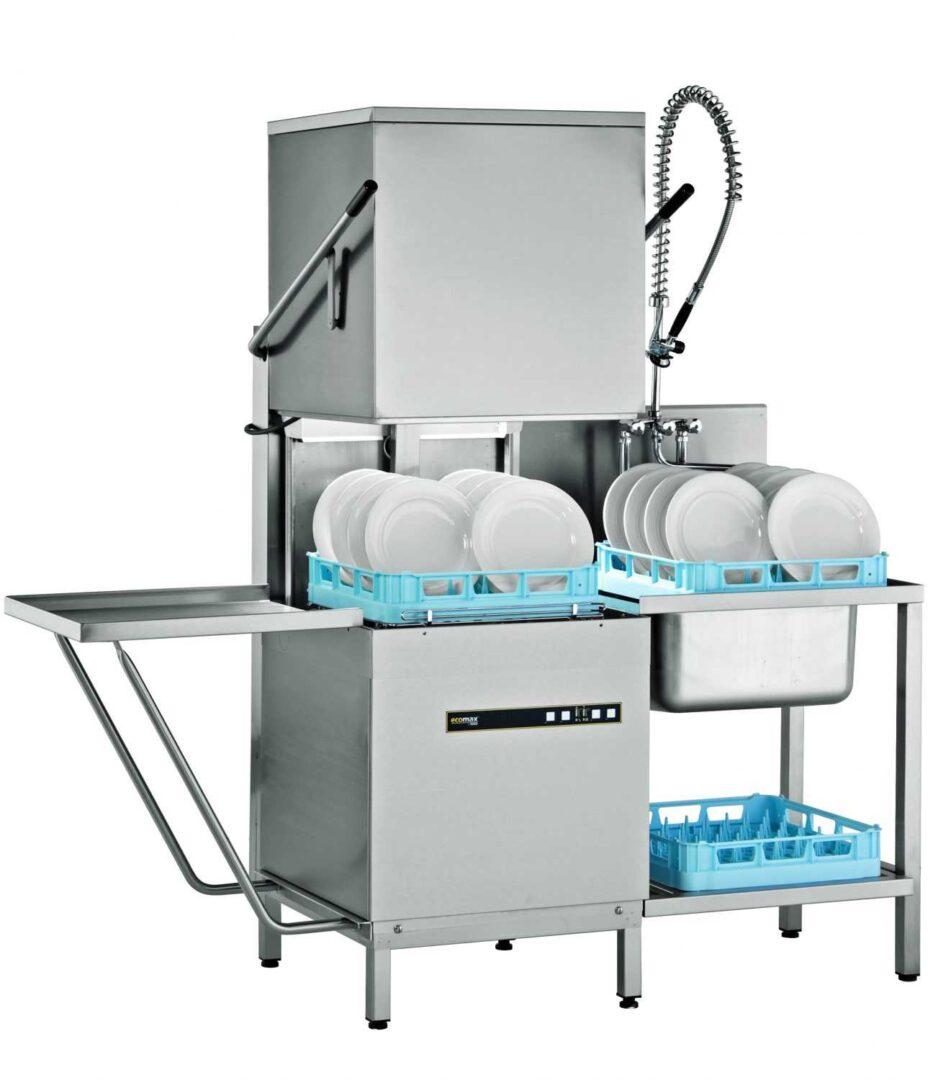 Hobart ECOMAX602 Hood Type Dish & Glasswasher