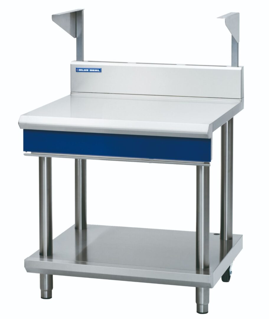 Blue Seal Evolution Series B90S-LS - 900mm Bench Top With Salamander Support – Leg Stand