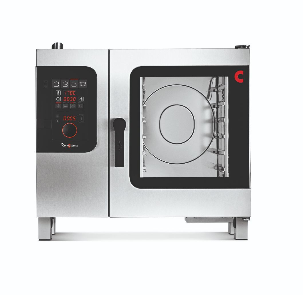 Convotherm C4EBD6.10C - 7 Tray Electric Combi-Steamer Oven - Boiler System