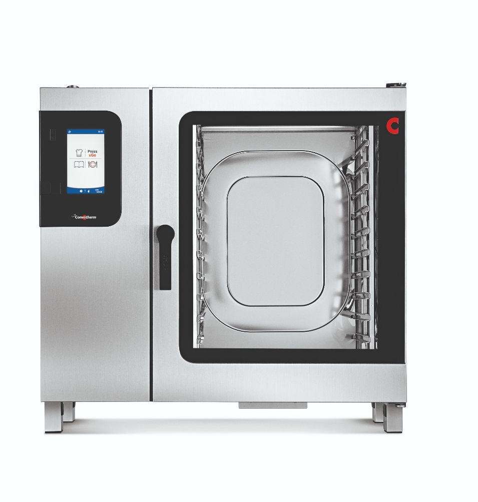 Convotherm C4GBT10.20CD- 22 Tray Gas Combi-Steamer Oven – Boiler System – Disappearing Door