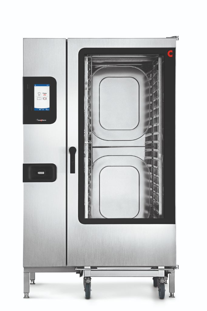 Convotherm C4GBT20.20CD – 40 Tray Gas Combi-Steamer Oven – Boiler System – Disappearing Door