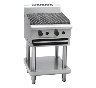 Waldorf 800 Series CHL8600G-LS – 600mm Gas Chargrill Low Back Version – Leg Stand