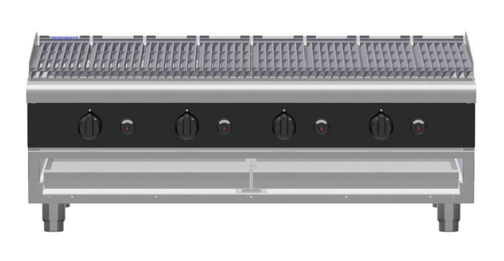 Waldorf Bold CHLB8120G-B – 1200mm Gas Chargrill Low Back Version – Bench Model