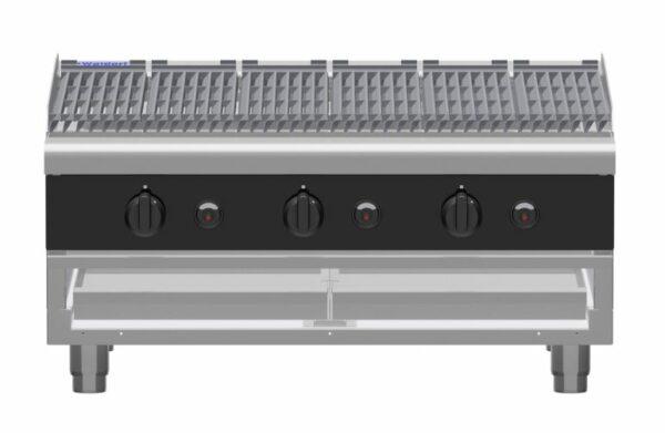 Waldorf Bold CHLB8900G-B - 900mm Gas Chargrill Low Back Version - Bench Model