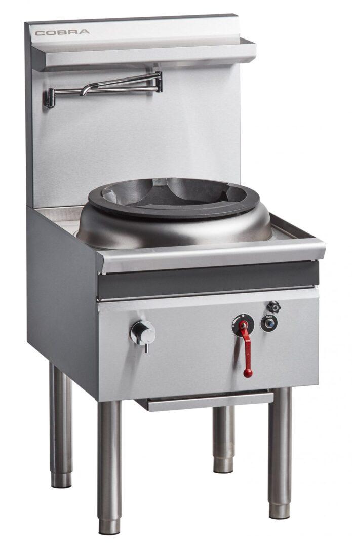 Cobra CW1H-D – 600mm Gas Waterless Wok with 1 Duckbill burner