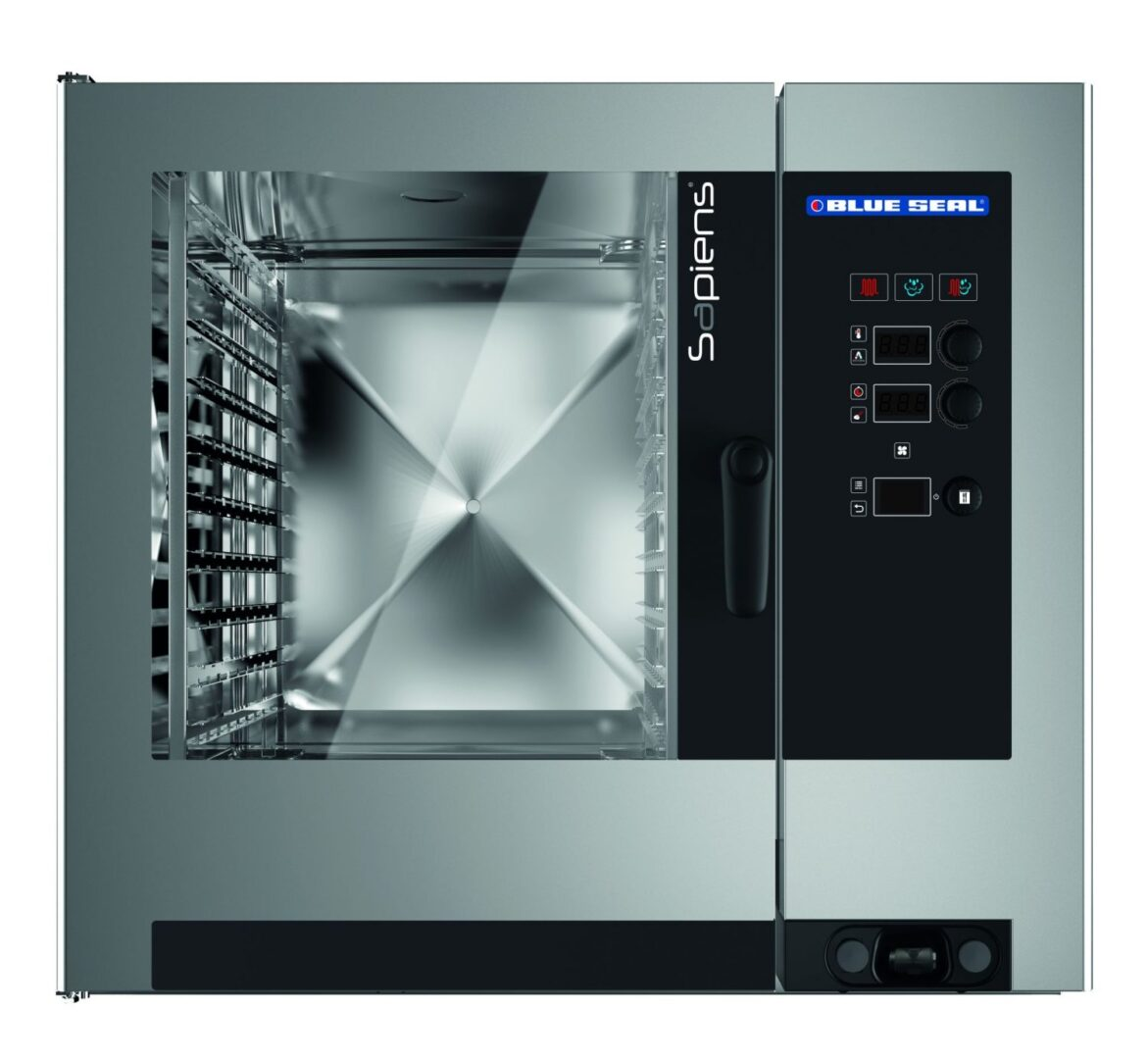 Blue Seal Sapiens E20RSDW 20 Tray Electric Combination Oven Steamers