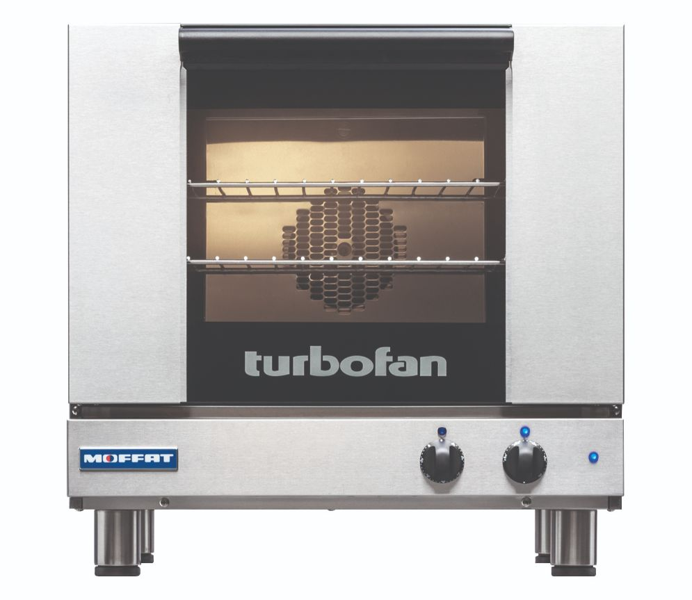 Turbofan E23M3 - Half Size Tray Manual Electric Convection Oven