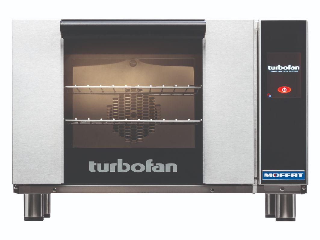 Turbofan E23T3 – Half Size Electric Convection Oven Touch Screen Control