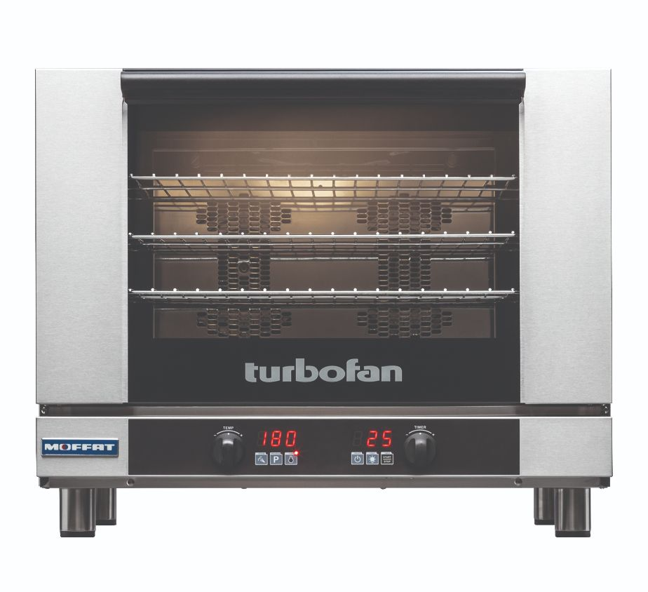 Turbofan E28D4 – Full Size Tray Digital Electric Convection Oven