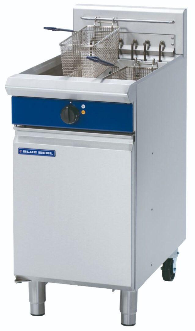 Blue Seal Evolution Series E43 - 450mm Electric Fryer