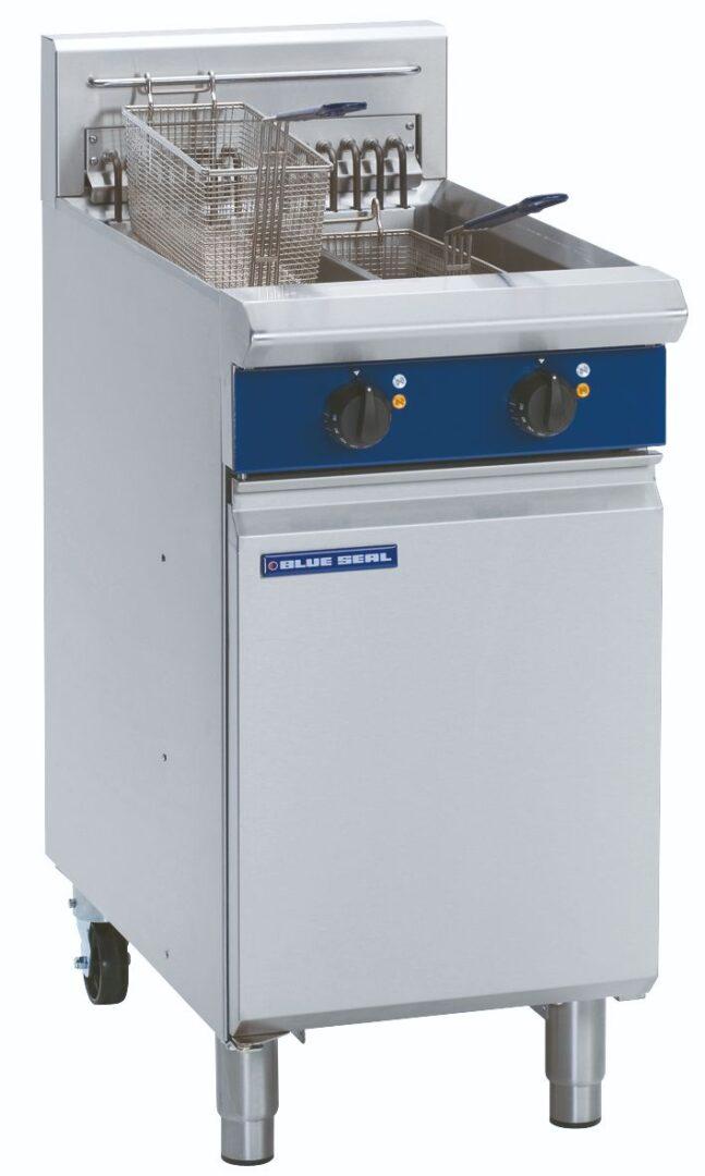Blue Seal Evolution Series E44 - 450mm Electric Fryer
