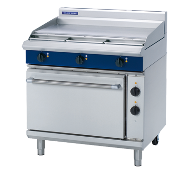 Blue Seal Evolution Series E506A – 900mm Electric Range Static Oven