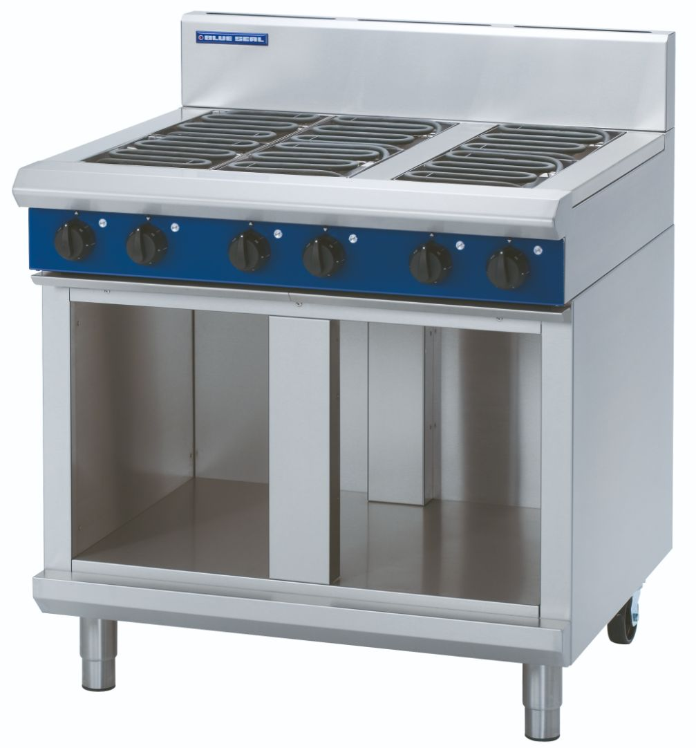 Blue Seal Evolution Series E516D-CB - 900mm Electric Cooktop – Cabinet Base