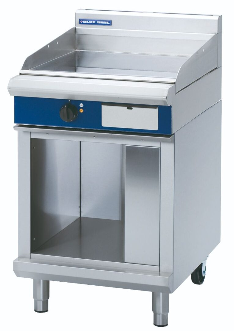 Blue Seal Evolution Series EP514-CB - 600mm Electric Griddle – Cabinet Base