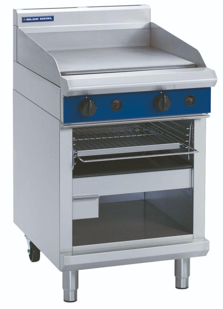 Blue Seal Evolution Series G55T – 600mm Gas Griddle Toaster