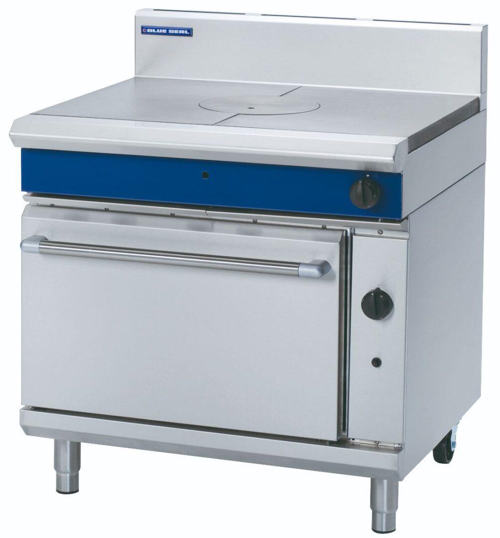 Blue Seal Evolution Series G570 - 900mm Gas Target Top Static Oven Range