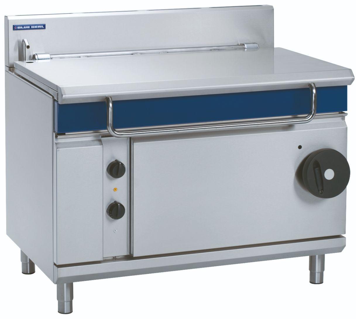 Blue Seal Evolution Series G580-12 - 1200mm Gas Tilting Bratt Pan