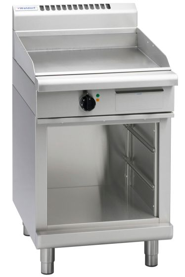 Waldorf 800 Series GPL8600E-CB – 600mm Electric Griddle Low Back Version – Cabinet Base