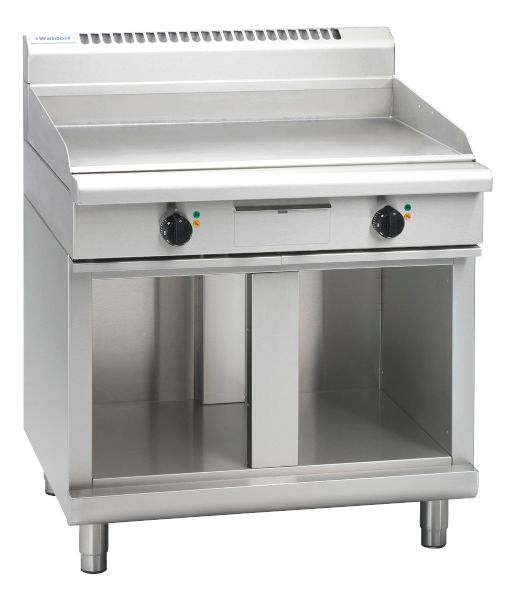 Waldorf 800 Series GPL8900E-CB – 900mm Electric Griddle Low Back Version – Cabinet Base
