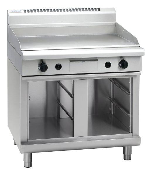 Waldorf 800 Series GP8900G-CB – 900mm Gas Griddle – Cabinet Base