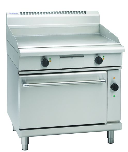 Waldorf 800 Series GP8910EC - 900mm Electric Griddle Convection Oven Range