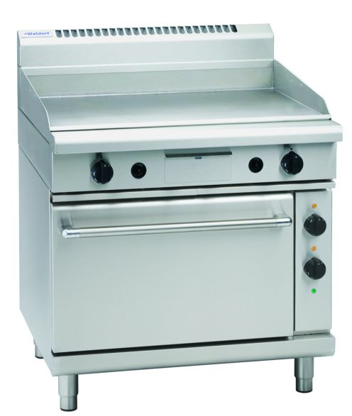 Waldorf 800 Series GP8910E – 900mm Electric Griddle Static Oven Range