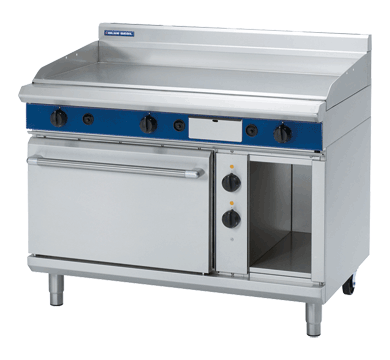 Blue Seal Evolution Series GPE508 - 1200mm Gas Griddle Electric Static Oven Range