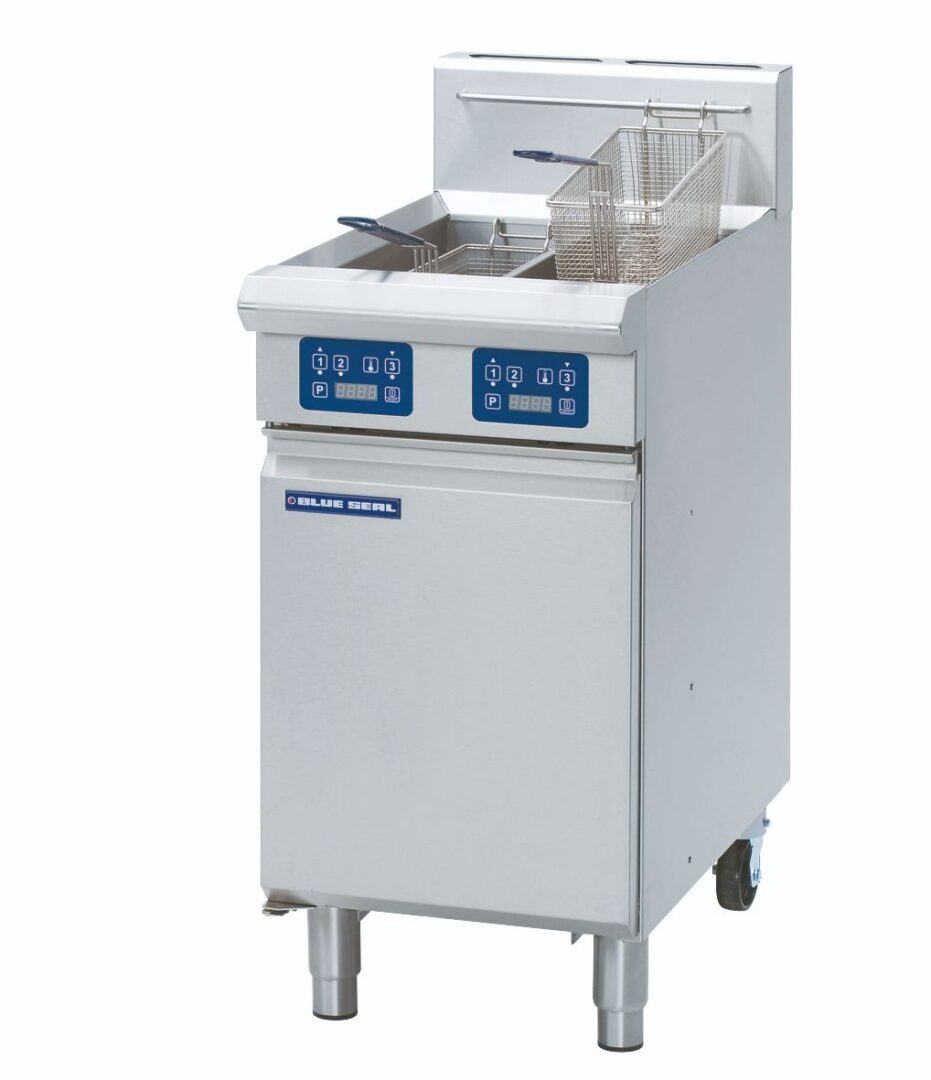 Blue Seal Evolution Series GT46E - 450mm Gas Fryer