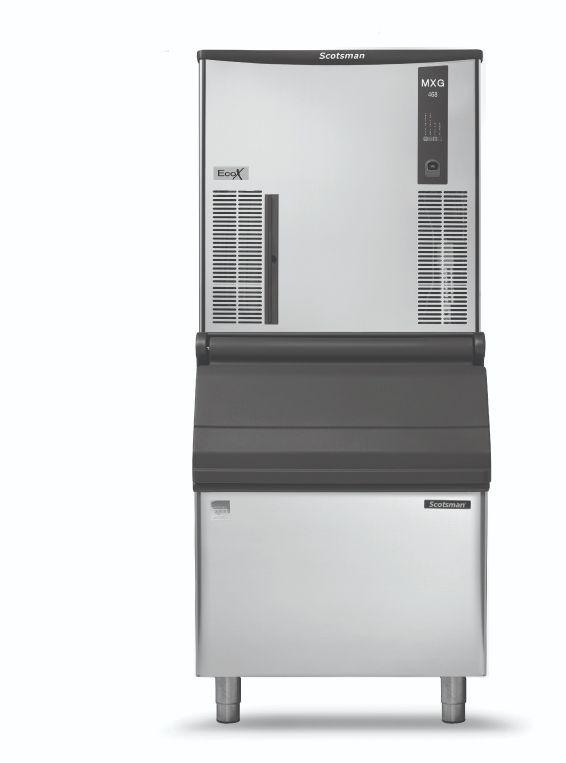 Scotsman MXG M 437 AS OX – 165kg Ice Maker – EcoX Ice Makers