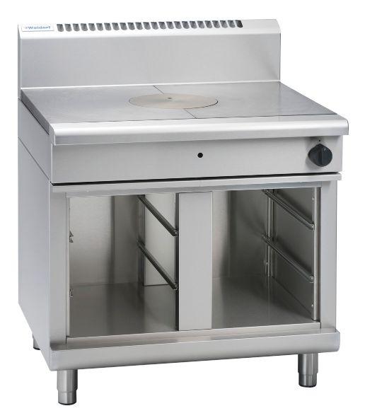 Waldorf 800 Series RNL8100G-CB – 900mm Gas Target Top Low Back Version – Cabinet Base