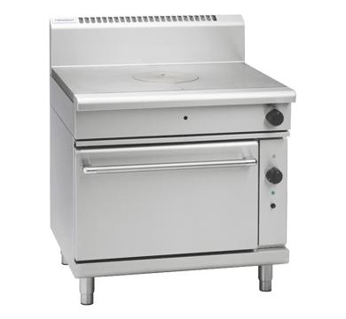 Waldorf 800 Series RNL8110GC – 900mm Gas Target Top Convection Oven Range