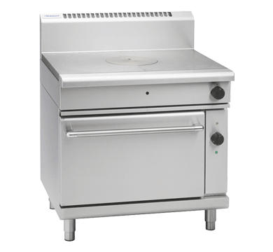 Waldorf 800 Series RNL8110GEC – 900mm Gas Target Top Electric Convection Oven Range