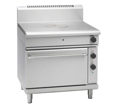 Waldorf 800 Series RN8110GE – 900mm Gas Target Top Electric Static Oven Range