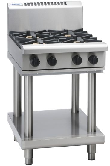Waldorf 800 Series RN8403G-LS – 600mm Gas Cooktop – Leg Stand