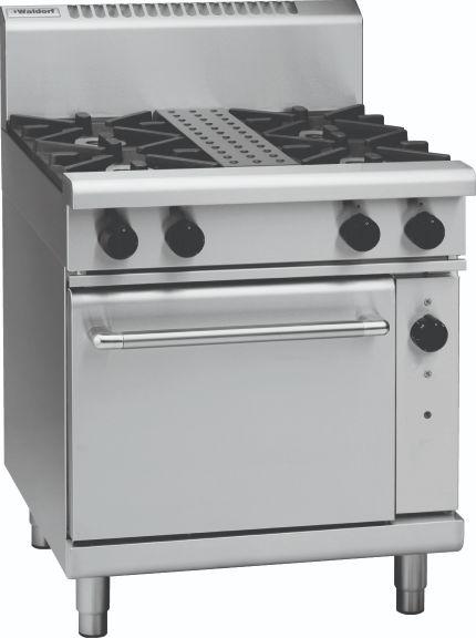 Waldorf 800 Series RN8510G – 750mm Gas Range Static Oven