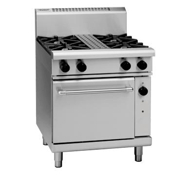 Waldorf 800 Series RNL8510G – 750mm Gas Range Static Oven Low Back Version