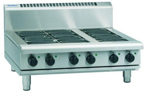 Waldorf 800 Series RNL8603E-B – 900mm Electric Cooktop Low Back Version – Bench Model