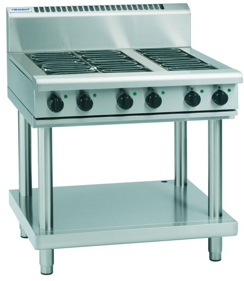 Waldorf 800 Series RN8609E-LS – 900mm Electric Cooktop – Leg Stand