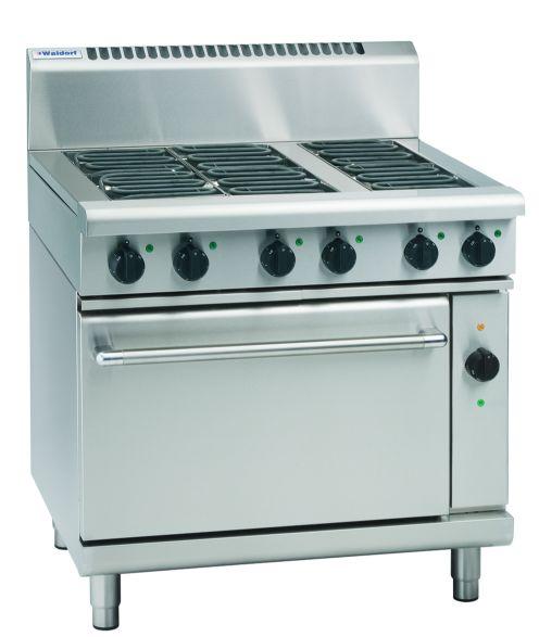 Waldorf 800 Series RNL8616EC – 900mm Electric Range Convection Oven Low Back Version