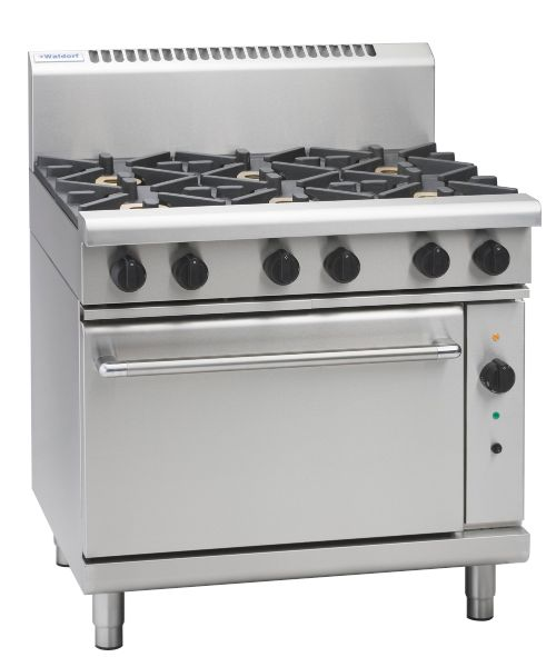 Waldorf 800 Series RNL8619GC – 900mm Gas Range Convection Oven Low Back Version