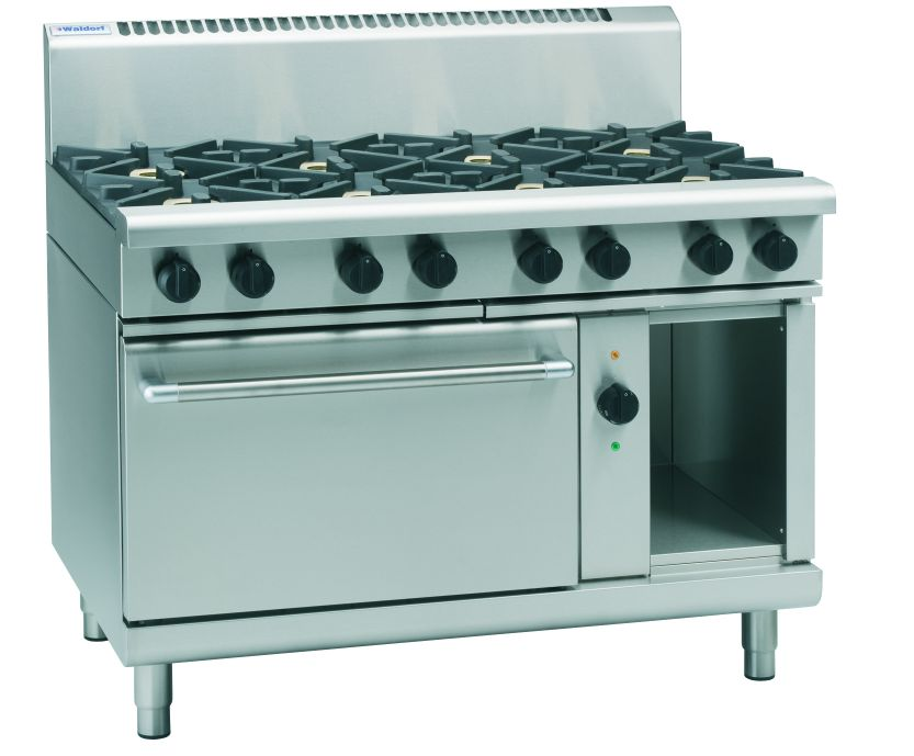 Waldorf 800 Series RN8810GEC – 1200mm Gas Range Electric Convection Oven