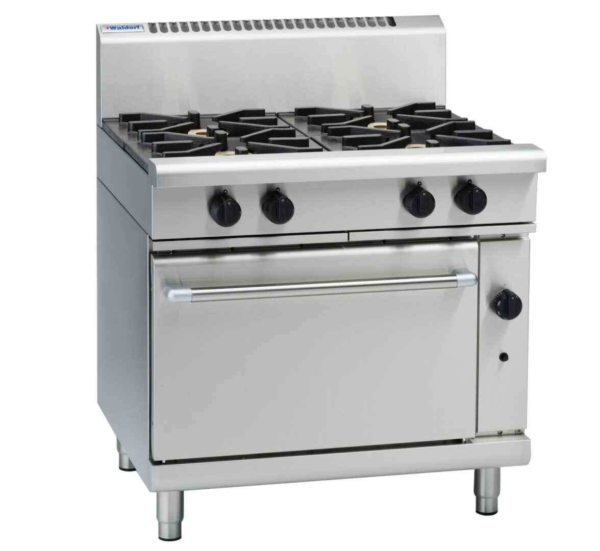 Waldorf 800 Series RNL8910G – 900mm Gas Range Static Oven Low Back Version