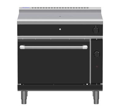 Waldorf Bold RNLB8110G – 900mm Gas Target Top Static Oven Range