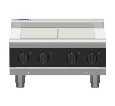 Waldorf Bold RNLB8400E-B – 600mm Electric Cooktop Low Back Version – Bench Model