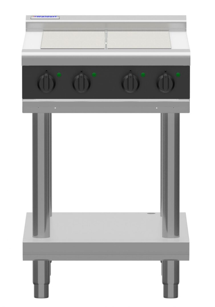 Waldorf Bold RNLB8400E-LS – 600mm Electric Cooktop Low Back Version – Leg Stand
