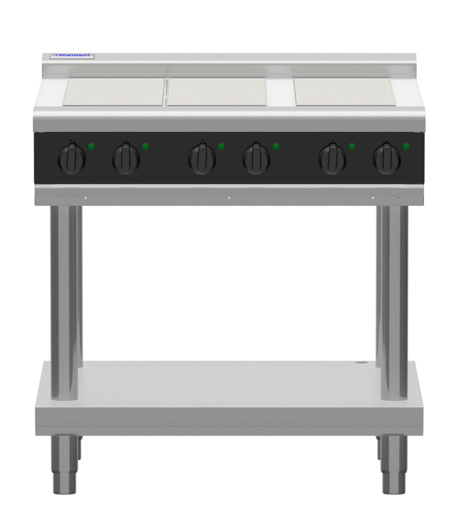 Waldorf Bold RNB8600E-LS – 900mm Electric Cooktop – Leg Stand