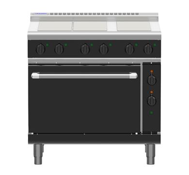 Waldorf Bold RNB8610E – 900mm Electric Range Static Oven