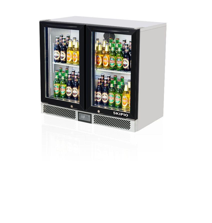 Skipio SB9-2G(900) Back Bar Refrigerator